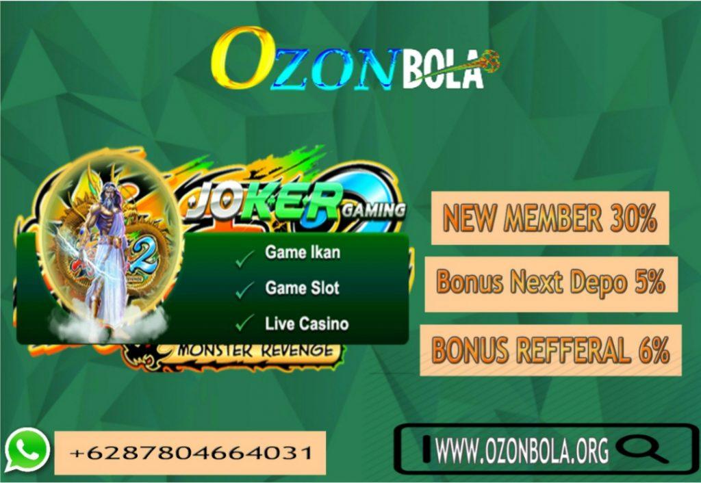 OzonBola Link Alternatif Joker1888